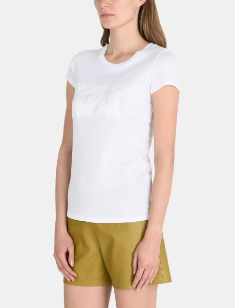 Футболка женские Armani Exchange WOMAN JERSEY T-SHIRT QZ1227 , 2017