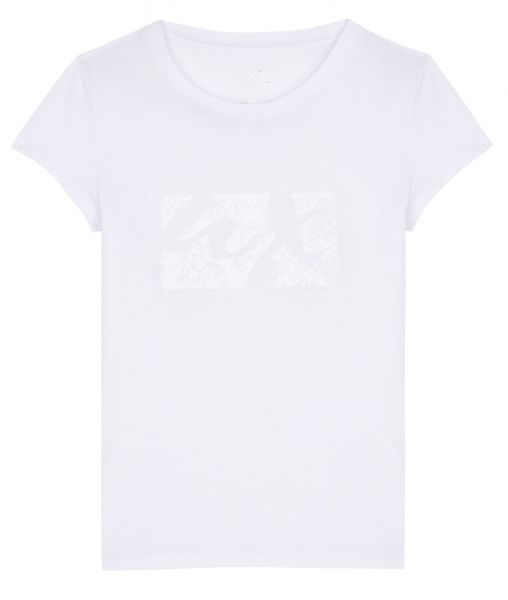 Футболка женские Armani Exchange WOMAN JERSEY T-SHIRT QZ1227 размеры одежды, 2017