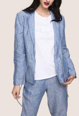 Пиджак для женщин Armani Exchange WOMAN BLAZER QZ1312 цена одежды, 2017