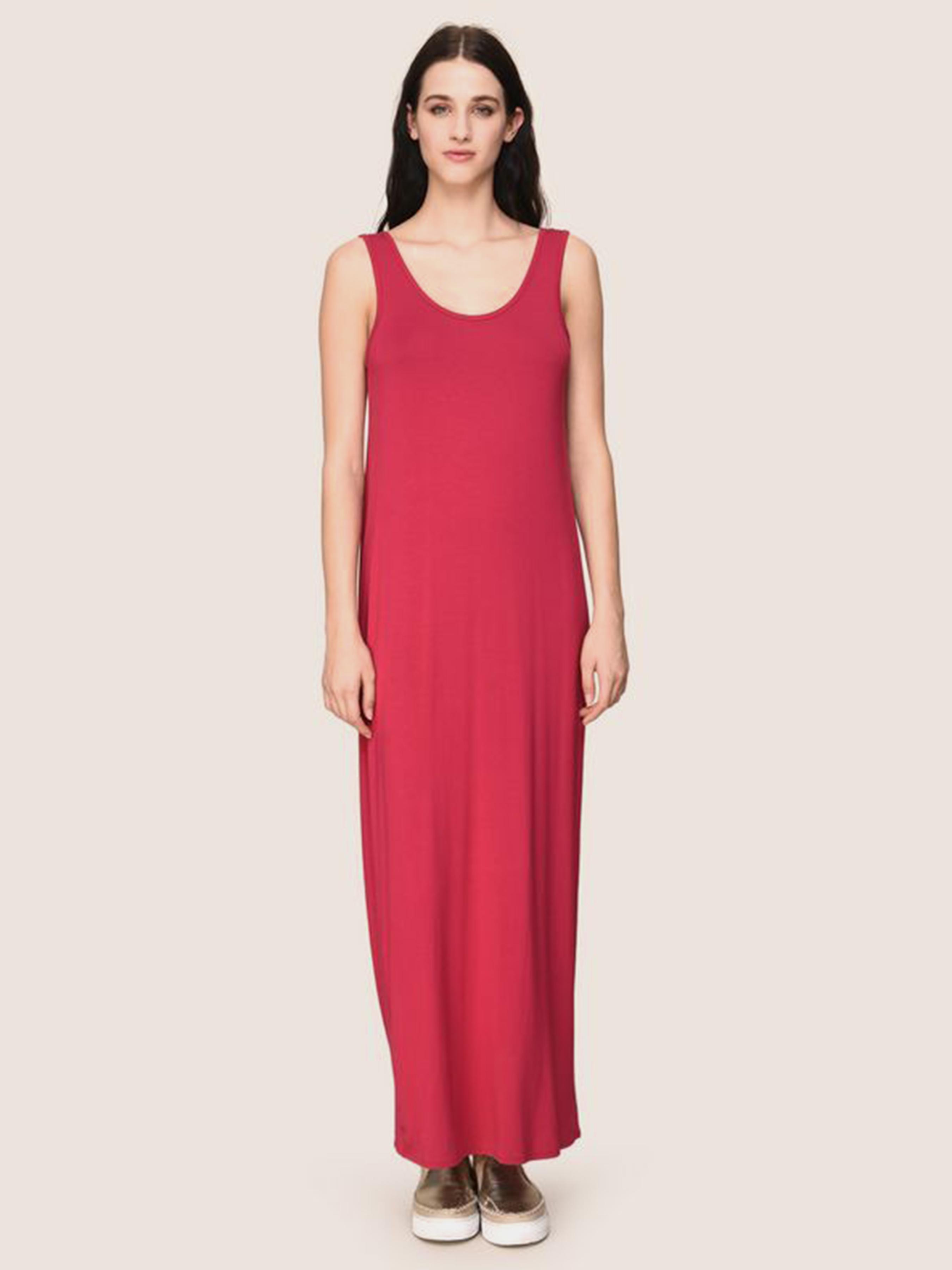 Купить Платье женские модель QZ1337, Armani Exchange, Малиновий