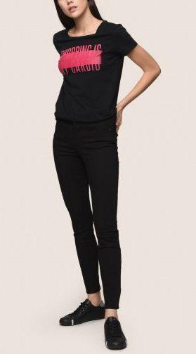 Футболка женские Armani Exchange WOMAN JERSEY T-SHIRT QZ1363 размеры одежды, 2017