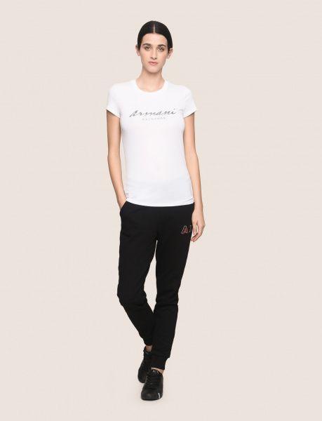 Футболка женские Armani Exchange WOMAN JERSEY T-SHIRT QZ1378 размеры одежды, 2017