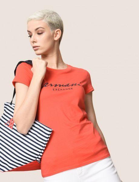 Футболка женские Armani Exchange WOMAN JERSEY T-SHIRT QZ1379 размеры одежды, 2017
