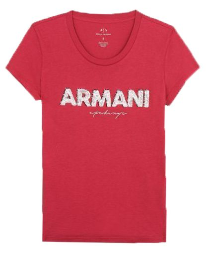 Футболка женские Armani Exchange WOMAN JERSEY T-SHIRT QZ1382 размеры одежды, 2017