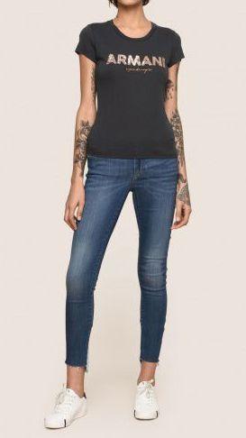 Футболка женские Armani Exchange WOMAN JERSEY T-SHIRT QZ1383 брендовая одежда, 2017