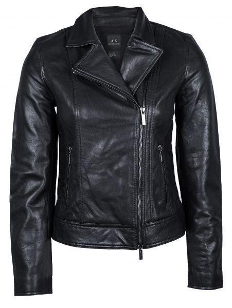 Armani Exchange Куртка шкіряна жіноча модель QZ1538 - купити за ... c20df2ea5456f