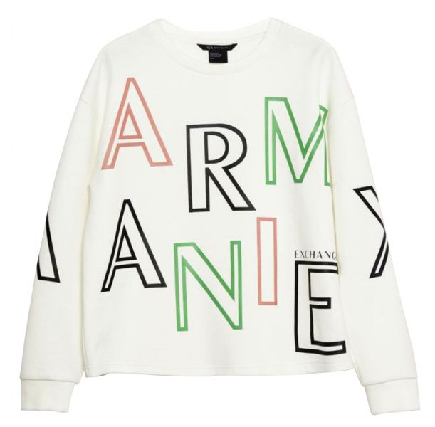 Купить Пуловер женские модель QZ1583, Armani Exchange, Бежевый