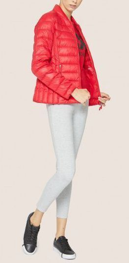 Пальто пуховое женские Armani Exchange модель QZ1618 приобрести, 2017
