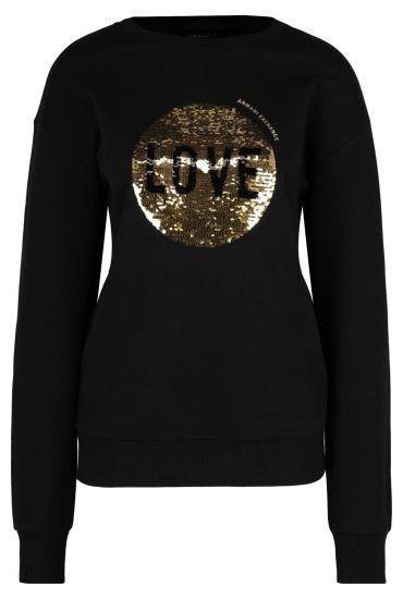 Купить Пуловер женские модель QZ1680, Armani Exchange, Черный