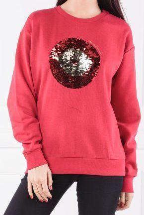 Купить Пуловер женские модель QZ1681, Armani Exchange, Красный