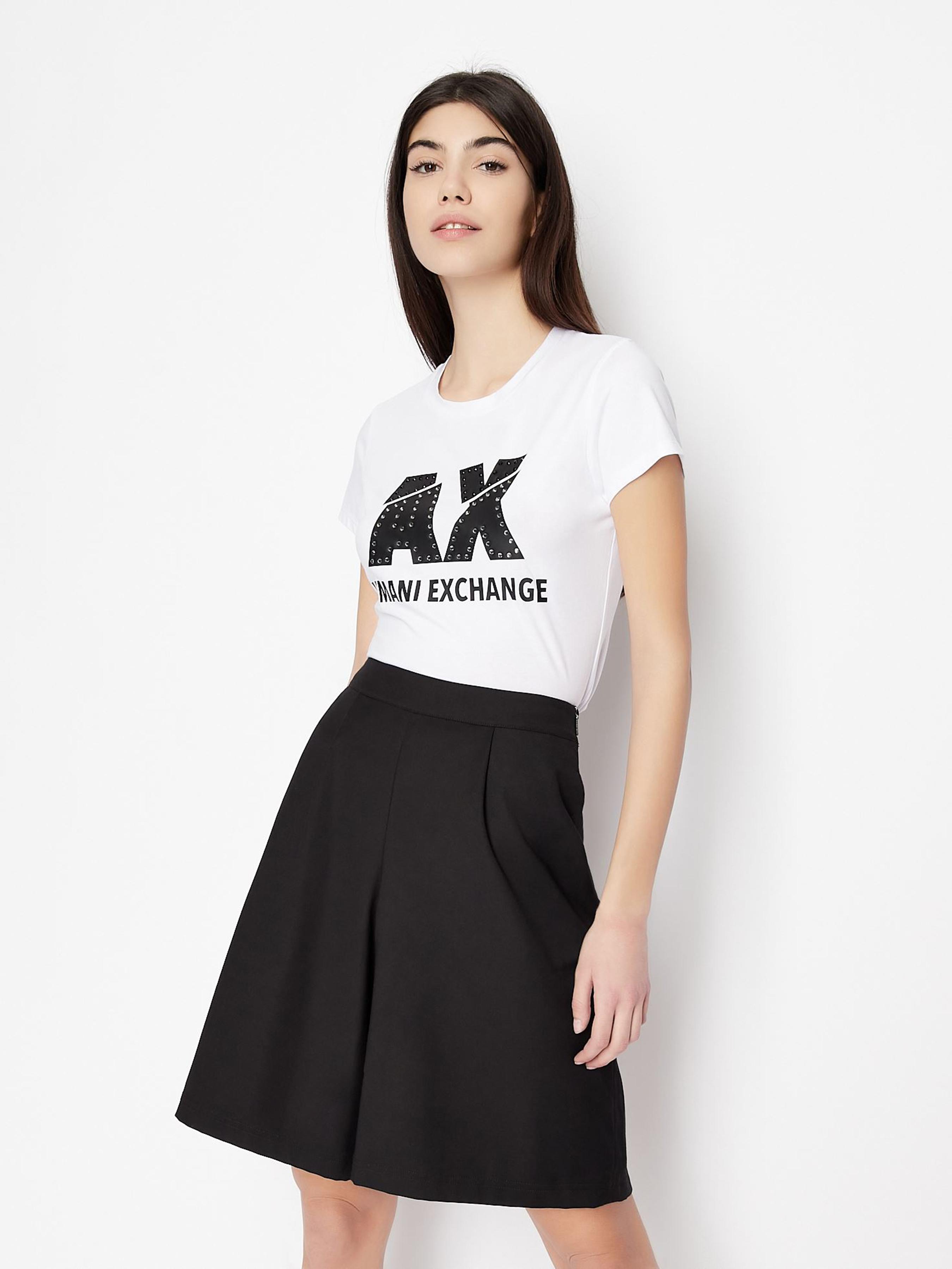 Футболка женские Armani Exchange модель QZ1742 приобрести, 2017