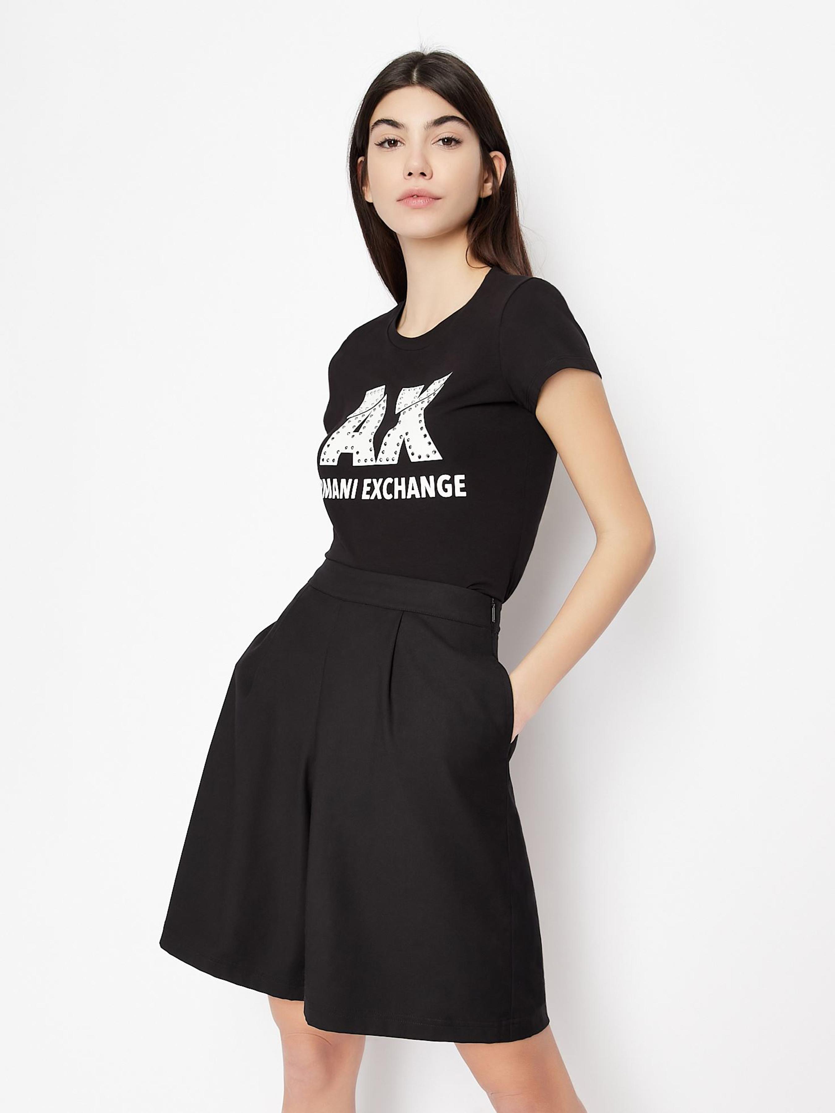 Футболка женские Armani Exchange модель QZ1743 приобрести, 2017