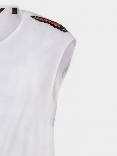 Блуза з коротким рукавом Armani Exchange модель 3GYH68-YNP9Z-1000 — фото 4 - INTERTOP