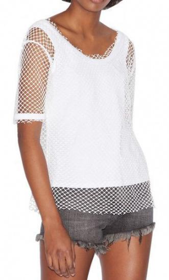Блуза з коротким рукавом Armani Exchange модель 3GYMAK-YJY5Z-1100 — фото - INTERTOP