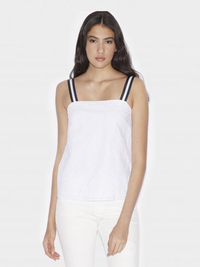 Блуза з коротким рукавом Armani Exchange модель 3GYH62-YNS7Z-1100 — фото - INTERTOP