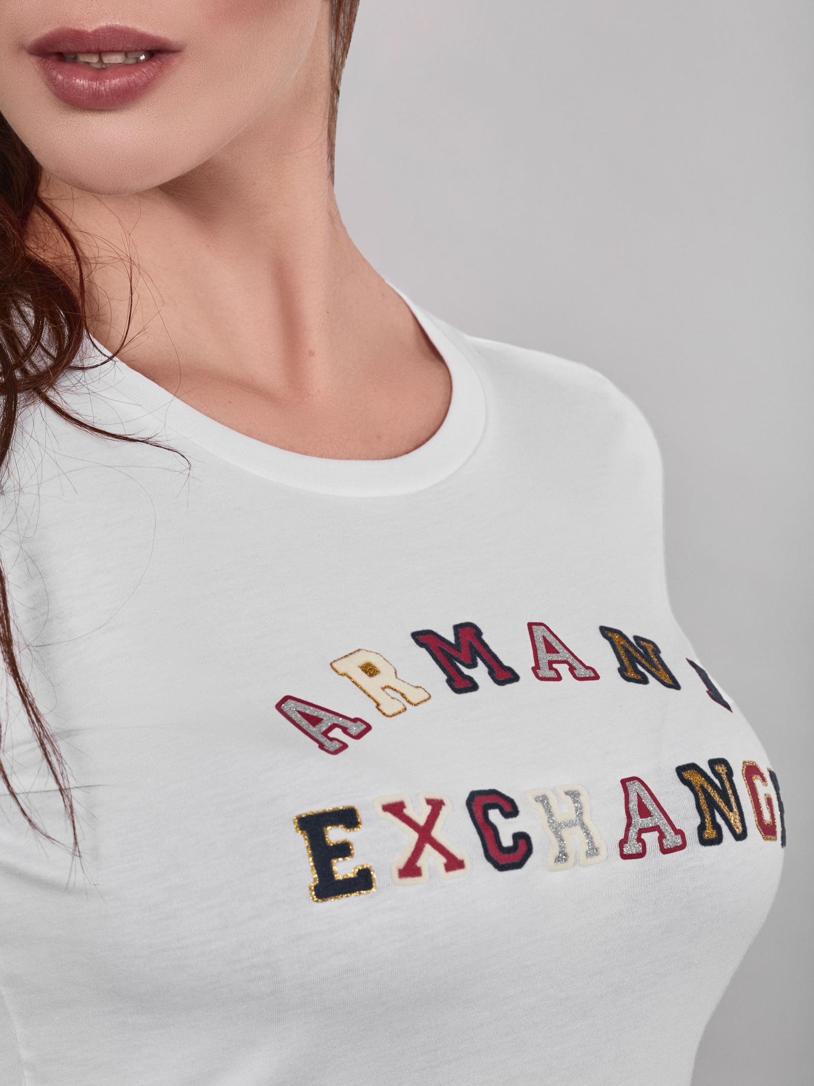 Футболка женские Armani Exchange модель QZ2037 , 2017