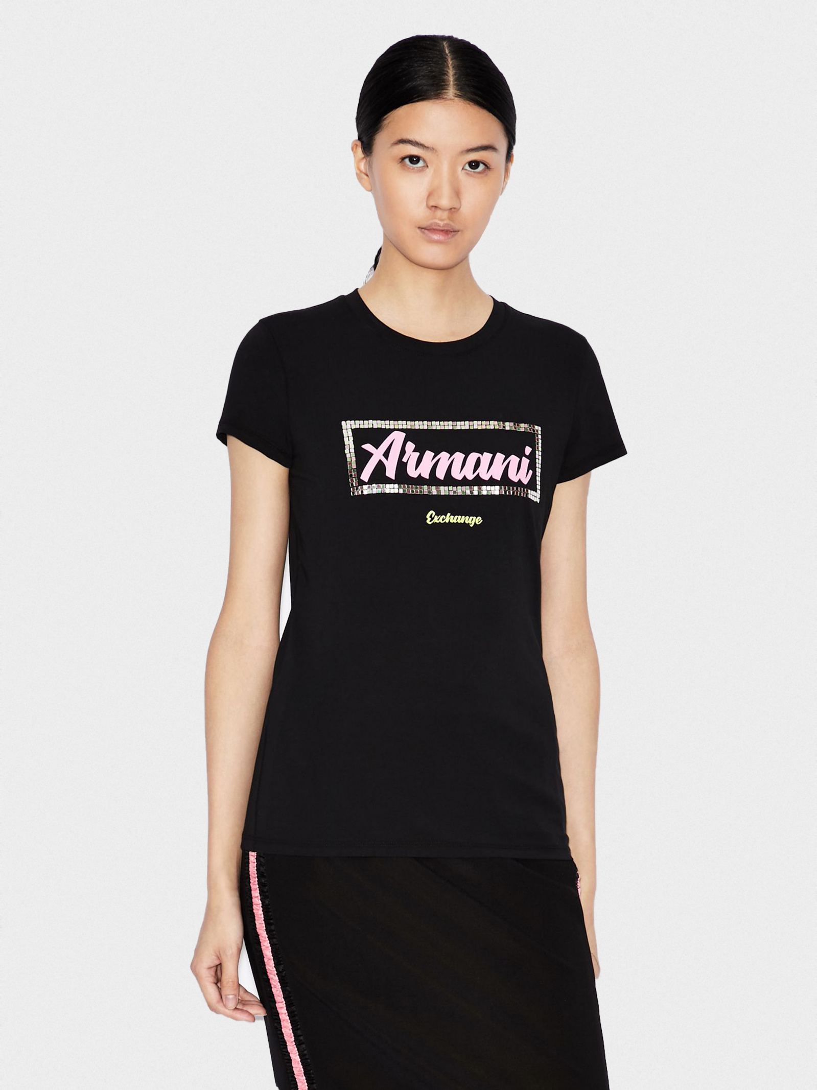 Футболка женские Armani Exchange модель QZ2138 приобрести, 2017
