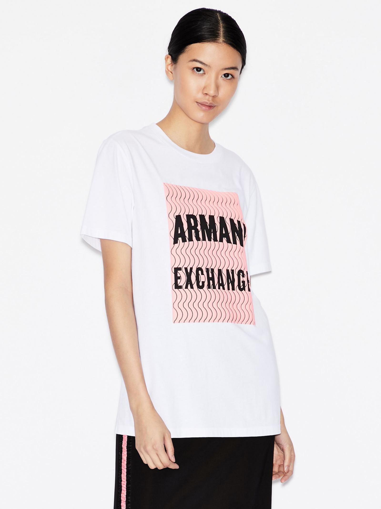 Футболка женские Armani Exchange модель QZ2142 приобрести, 2017