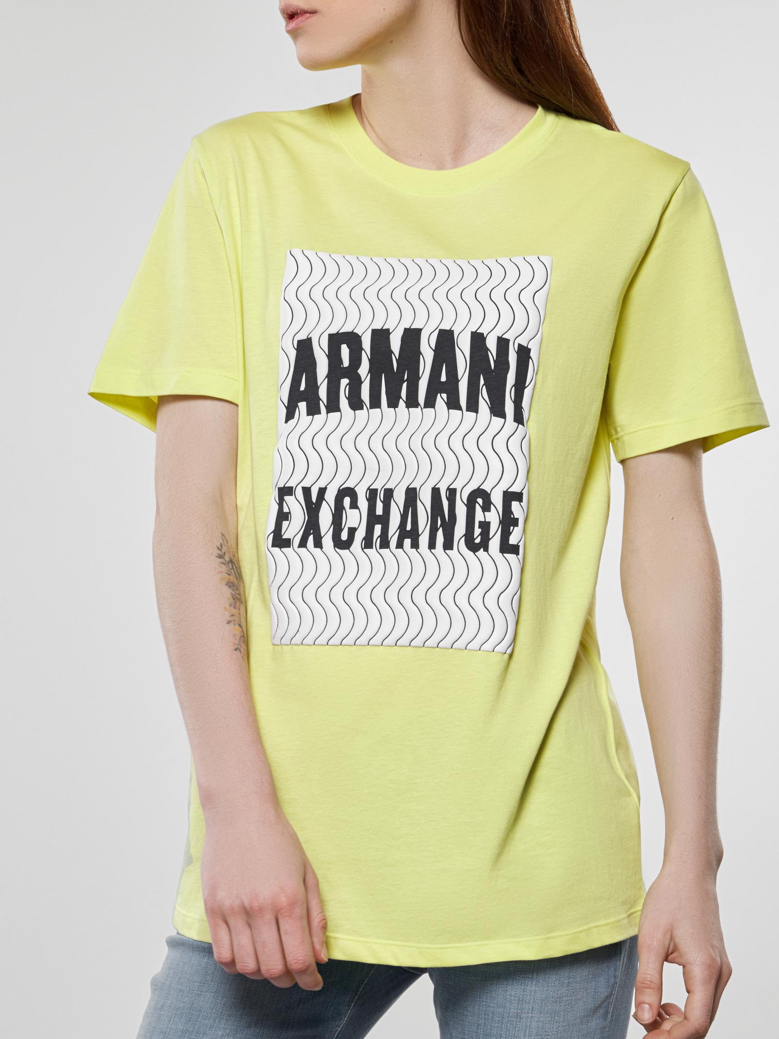 Футболка жіноча Armani Exchange модель 3HYTAM-YJ73Z-1846 - фото