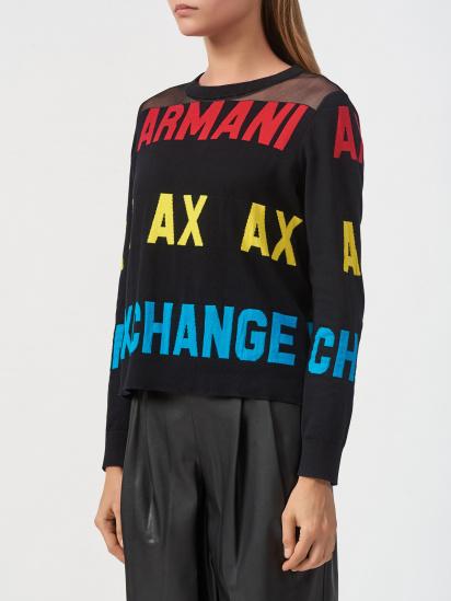 Пуловер Armani Exchange модель 6HYM1F-YMD4Z-1200 — фото - INTERTOP
