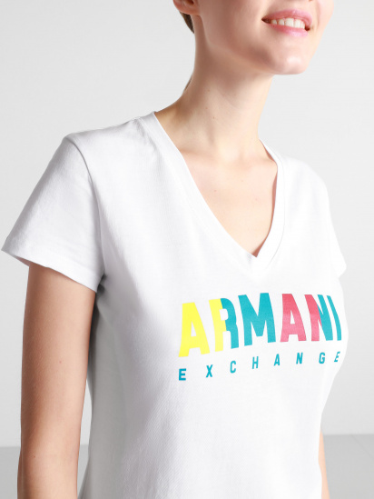 Футболка Armani Exchange модель 6HYTGK-YJW3Z-1000 — фото 3 - INTERTOP