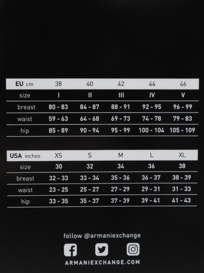 Бюстгальтер Armani Exchange модель 947004-1A502-00020 — фото 5 - INTERTOP