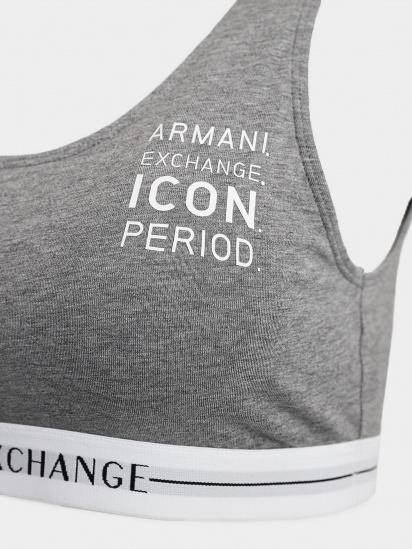 Бюстгальтер Armani Exchange модель 947004-1A502-00048 — фото 3 - INTERTOP