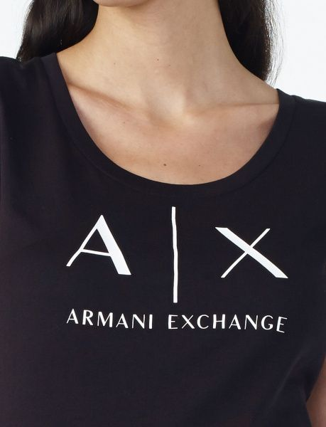 Футболка женские Armani Exchange QZ351 размерная сетка одежды, 2017