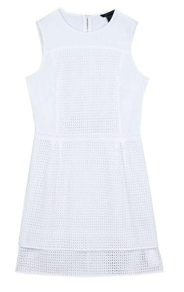 Купить Платье женские модель QZ445, Armani Exchange, Белый
