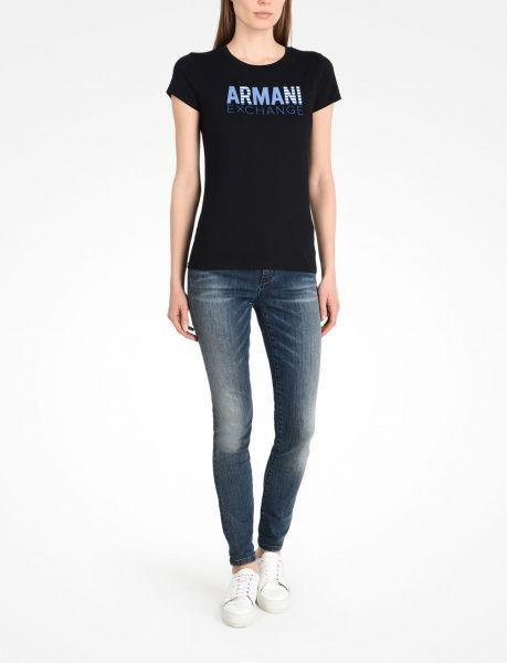 Футболка женские Armani Exchange QZ636 брендовая одежда, 2017