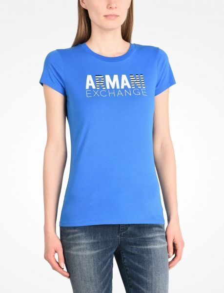 Футболка женские Armani Exchange QZ637 цена одежды, 2017