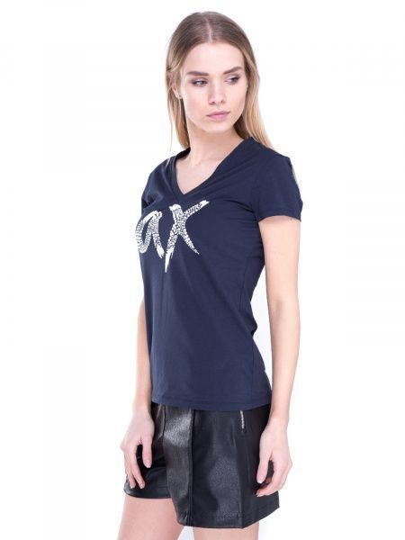 Футболка для женщин Armani Exchange QZ640 примерка, 2017