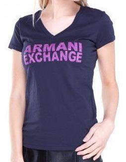 Футболка для женщин Armani Exchange QZ654 размерная сетка одежды, 2017