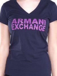 Футболка женские Armani Exchange модель QZ654 , 2017