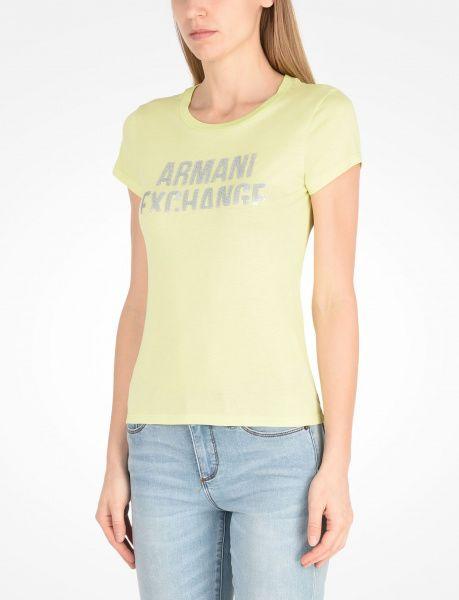 Футболка для женщин Armani Exchange QZ660 примерка, 2017