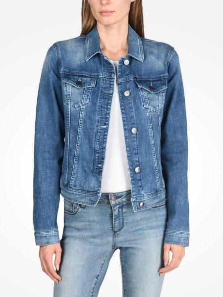Куртка для женщин Armani Exchange WOMAN DENIM BLOUSON JACKET QZ674 фото одежды, 2017
