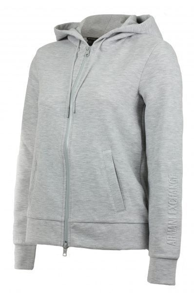 Кофта спорт женские Armani Exchange WOMAN JERSEY SWEATSHIRT QZ691 брендовая одежда, 2017