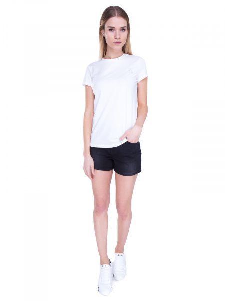 Футболка для женщин Armani Exchange WOMAN JERSEY T-SHIRT QZ708 размерная сетка одежды, 2017