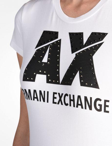 Футболка для женщин Armani Exchange WOMAN JERSEY T-SHIRT QZ725 одежда бренда, 2017