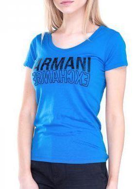 Купить Футболка женские модель QZ757, Armani Exchange, Синий