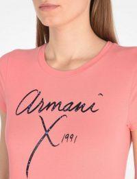 Футболка женские Armani Exchange модель QZ831 , 2017
