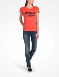 Футболка женские Armani Exchange модель 3YYTCP-YJC9Z-1411 цена, 2017