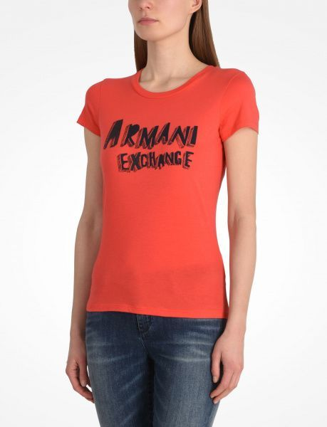 Футболка для женщин Armani Exchange QZ843 примерка, 2017