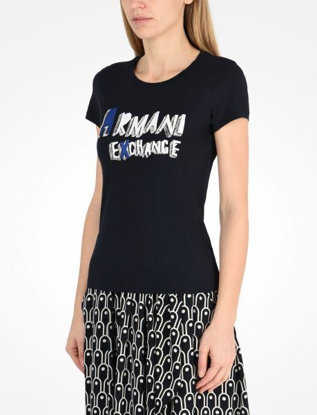 Футболка для женщин Armani Exchange QZ844 примерка, 2017