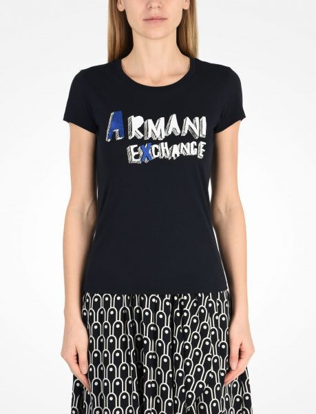 Футболка для женщин Armani Exchange QZ844 купить, 2017