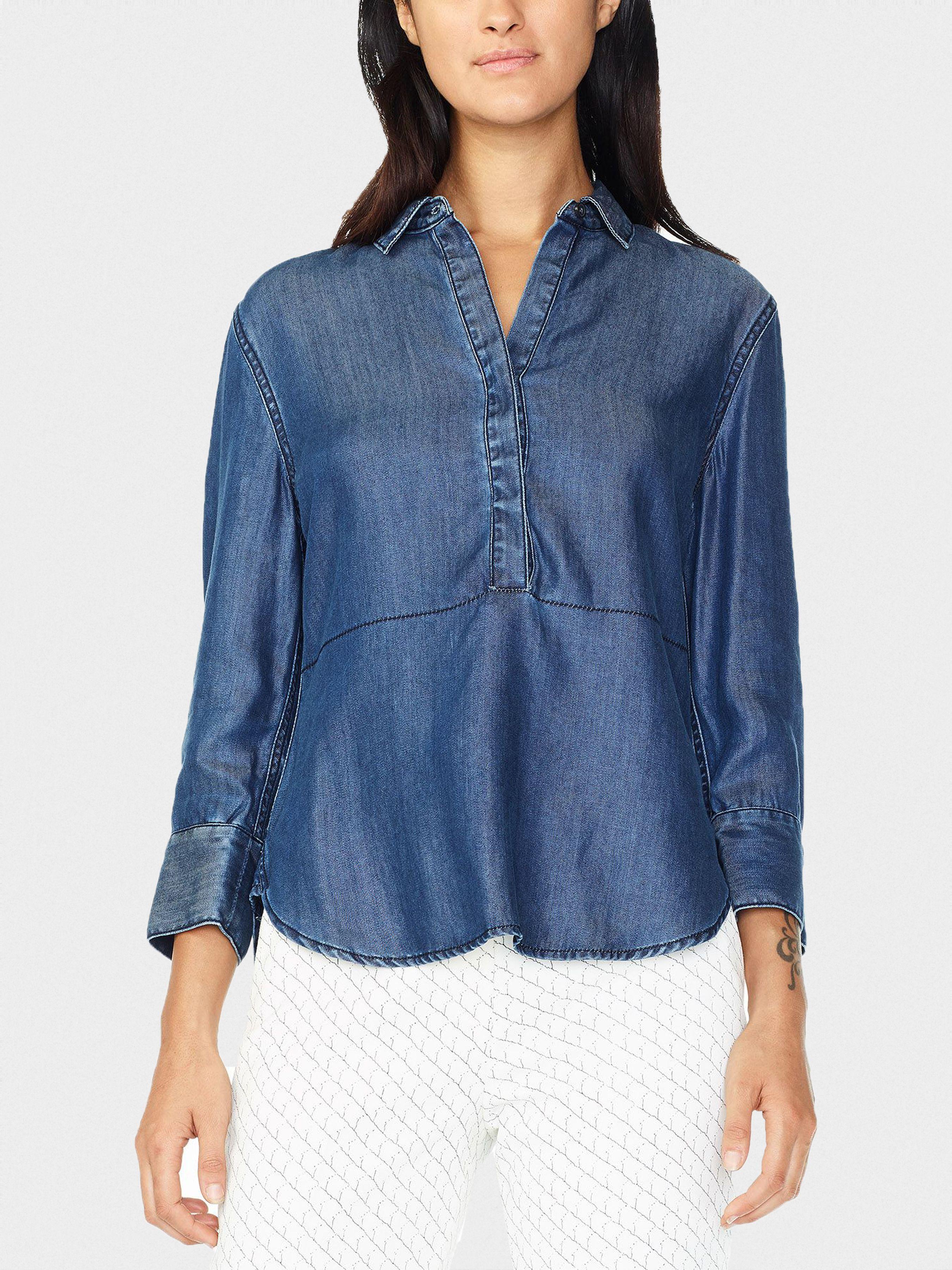Купить Блуза женские модель QZ88, Armani Exchange, Синий