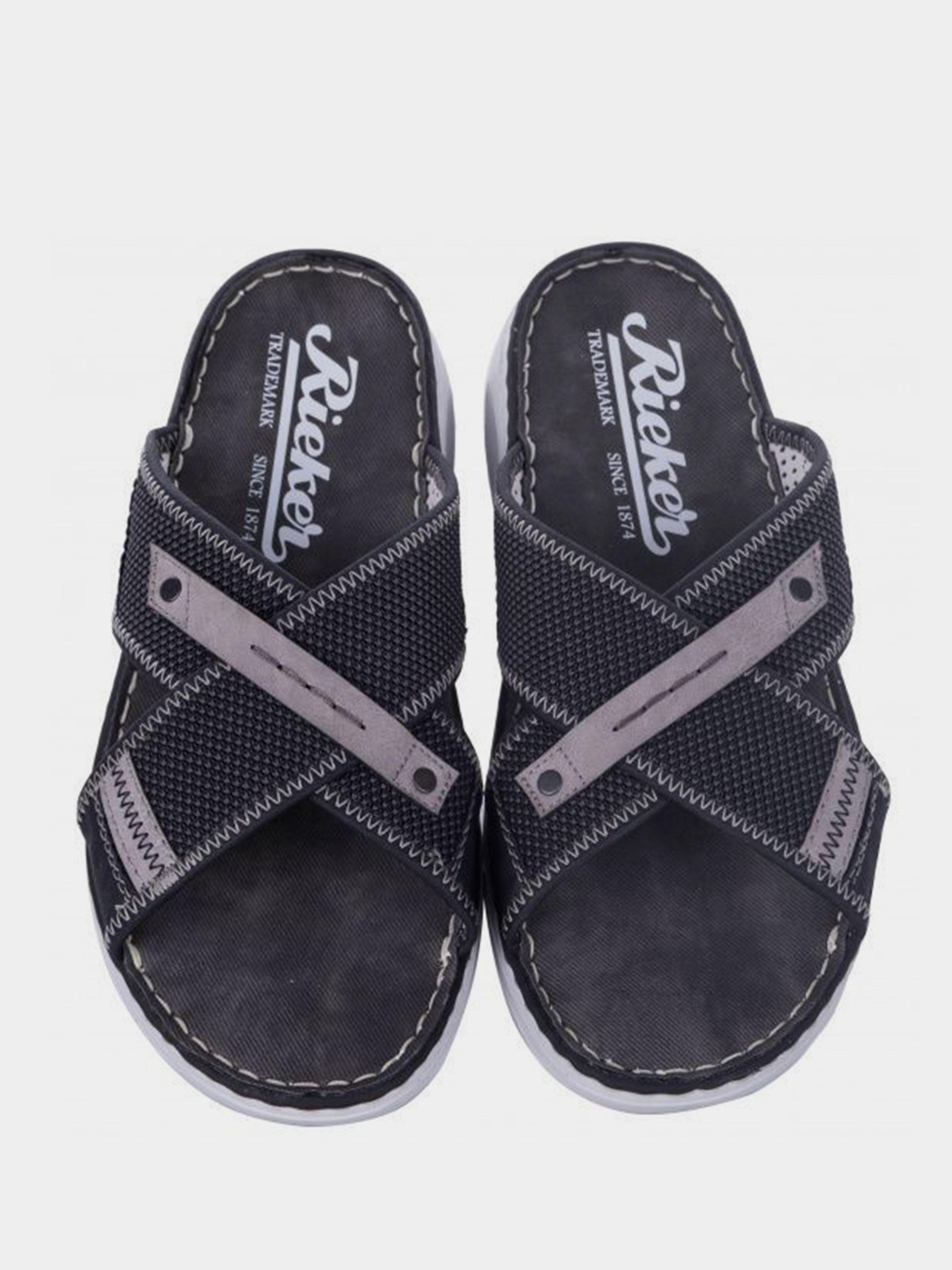Сандалии для мужчин RIEKER RK581 размеры обуви, 2017