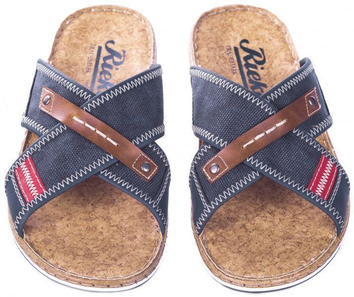 Сандалии для мужчин RIEKER RK613 размеры обуви, 2017