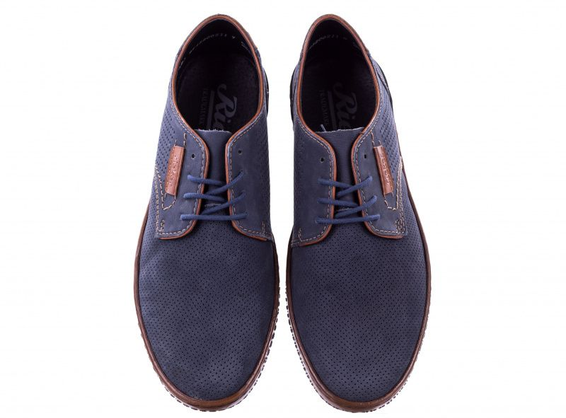Полуботинки для мужчин RIEKER RK615 брендовая обувь, 2017