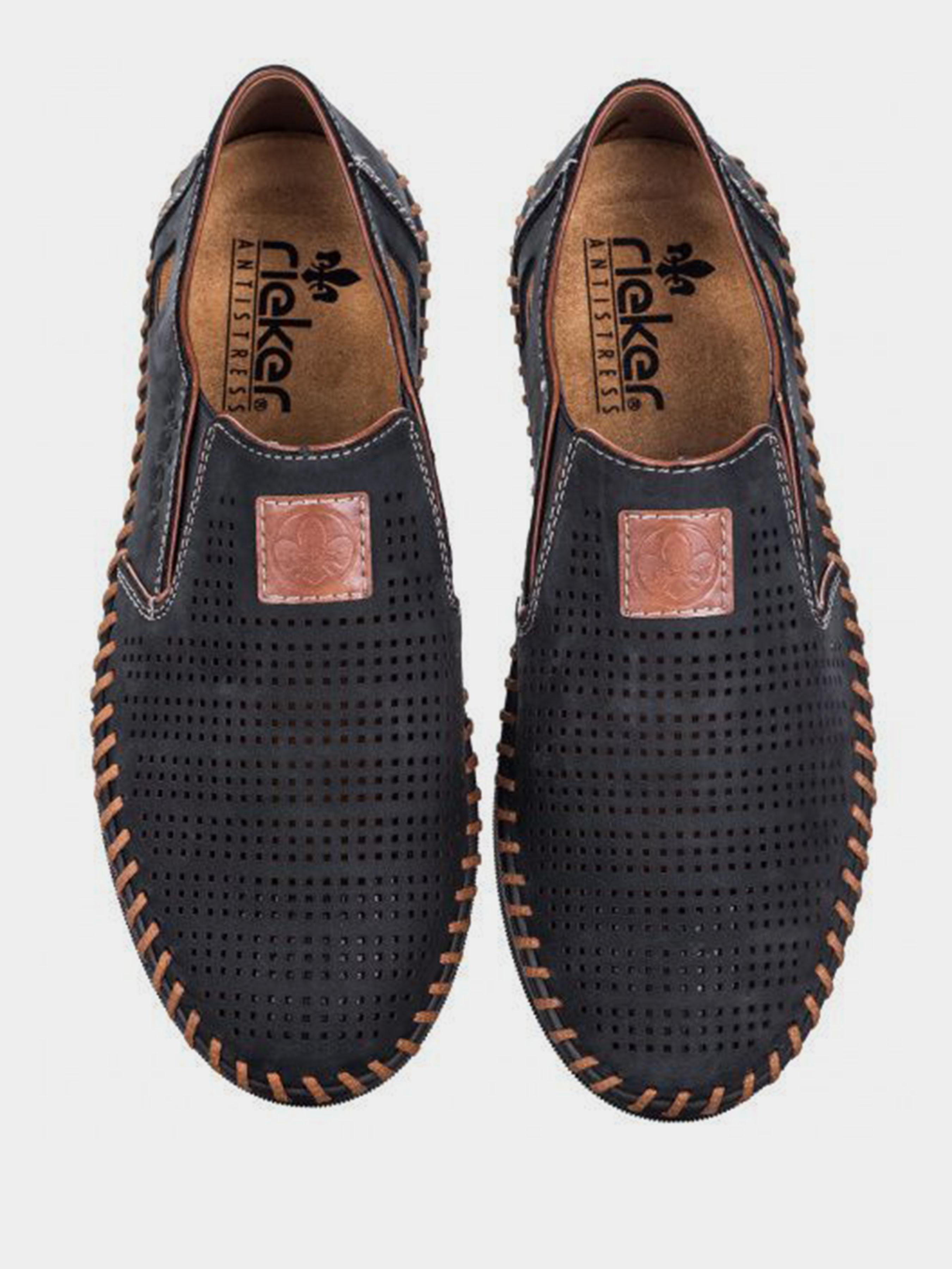 Cлипоны для мужчин RIEKER RK653 размеры обуви, 2017